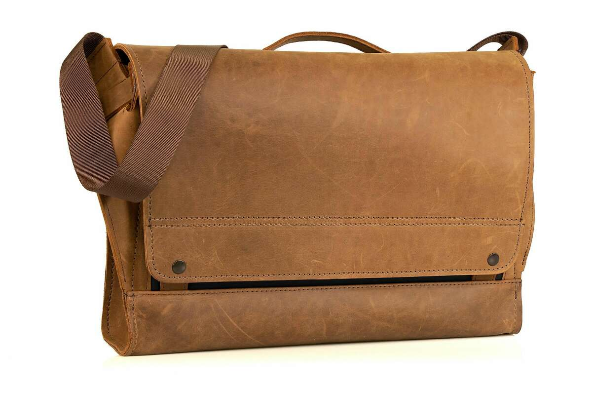 IN: Rustic grown up briefcases and shoulder bags by the likes of WaterField Designs, a local timeless, staple. And yes, WaterField even has backpacks for the stubbornly scholastic. Pictured is the Maverick style.