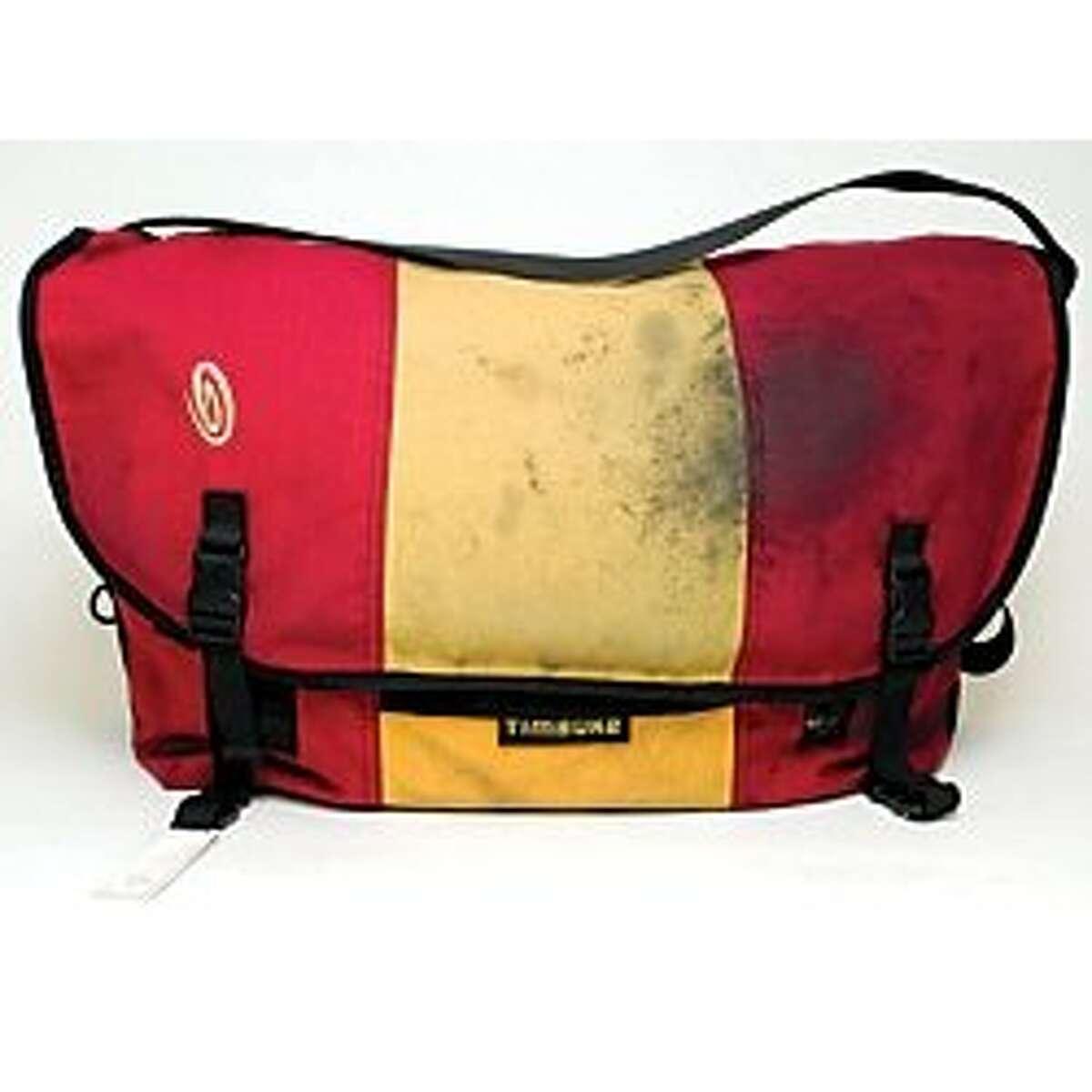A old version of a Timbuk2 messenger bag.