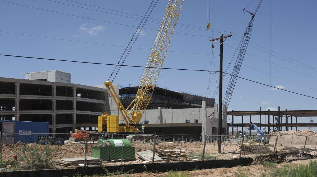 Construction continues on Anadarko 08/06/18 on Deauville Blvd. Tim Fischer/Reporter-Telegram