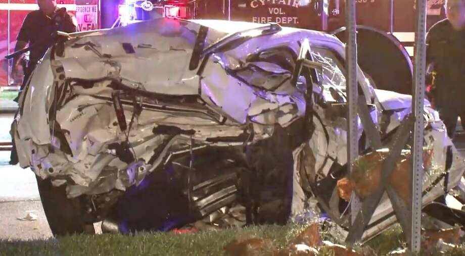 Four people were injured in a major crash on FM 1960 and Eldridge on Tuesday, Aug. 7, 2018.  Continue clicking to see drunk-driving data for many Texas cities. Photo: Metro Video