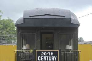 Danbury Rail Museum's 20th Century Limited rail car was on display at the museum's 11th annual Danbury Railway Days.