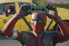 """Deadpool is back in red and black in """"Deadpool 2."""""""