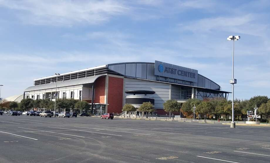 Starting Monday, the AT&T Center will serve as a Wi-Fi hub for residents needing internet access. Photo: Google Earth