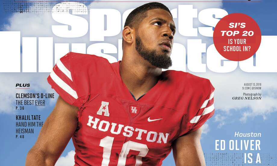 PHOTOS: UH athletes on Sports Illustrated cover 