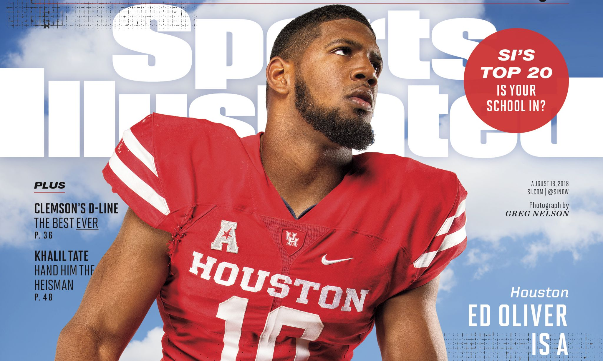 uh defensive tackle ed oliver featured on sports