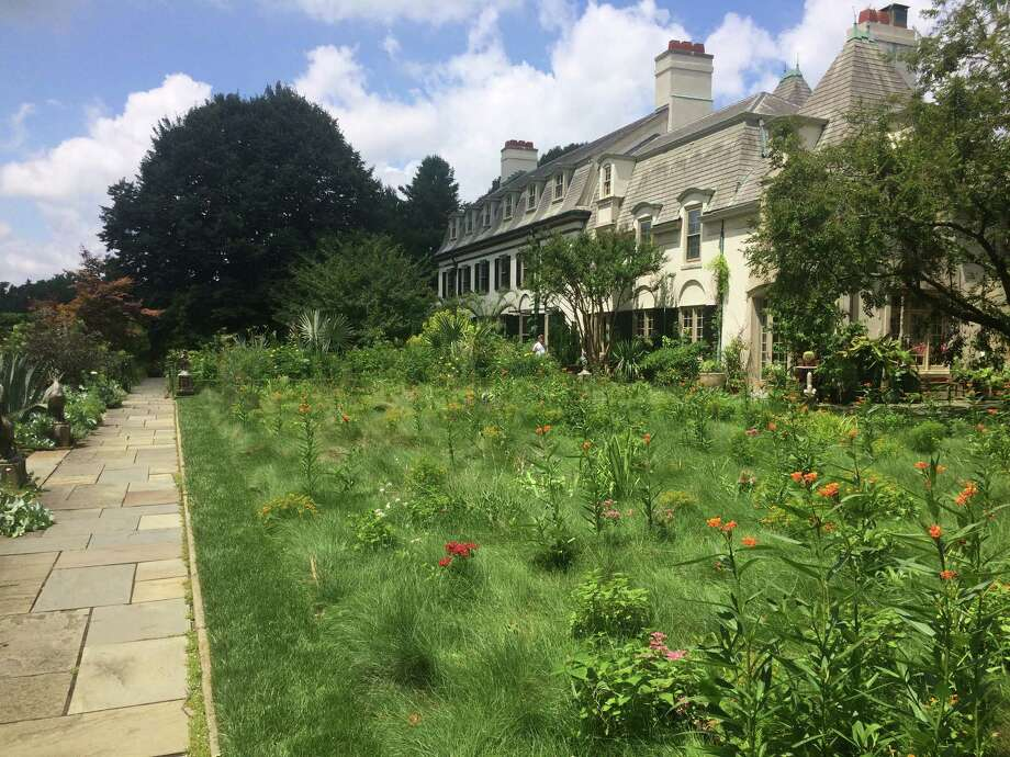 The Flowery Lawn Next To Chanticleer House Is A Whimsical Take On The  Meadow. The