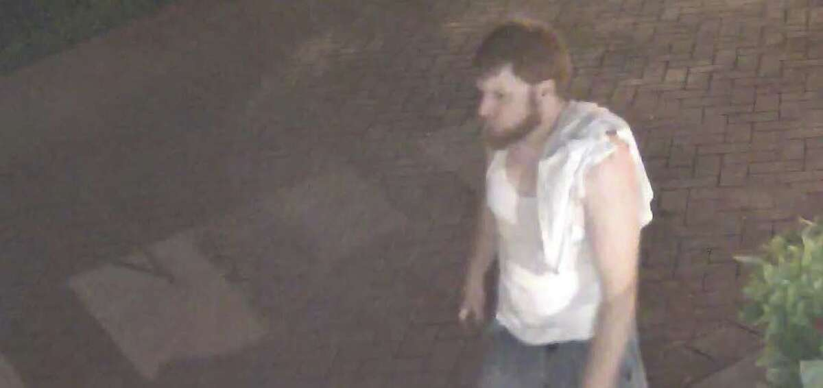 Saratoga Springs police a suspect in an overnight vandalism spree.