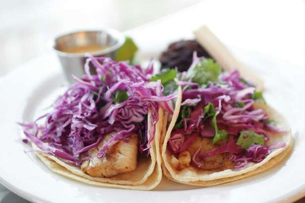 Fish tacos are shown at Adair Kitchen, a restaurant of Adair Concepts on San Felipe. Adair Concepts, which operates several different brands in Houston, plans to open a yet to be named restaurant in downtown's Wells Fargo Plaza in 2019.