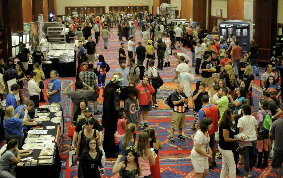 A previous Terrificon; this year's moves to the Earth Expo & Convention Center. Photo: Mohegan Sun / Contributed Photo