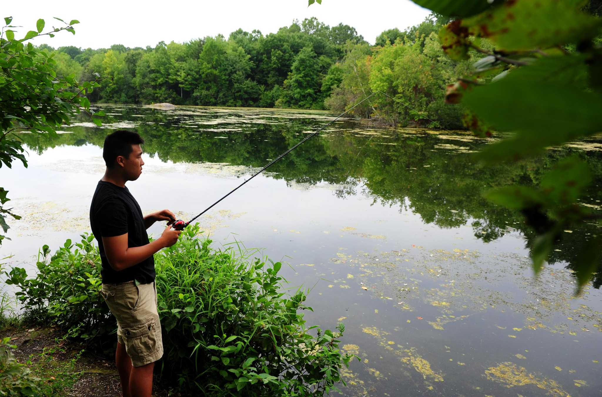 Free fishing license day this saturday connecticut post for Fishing license ct