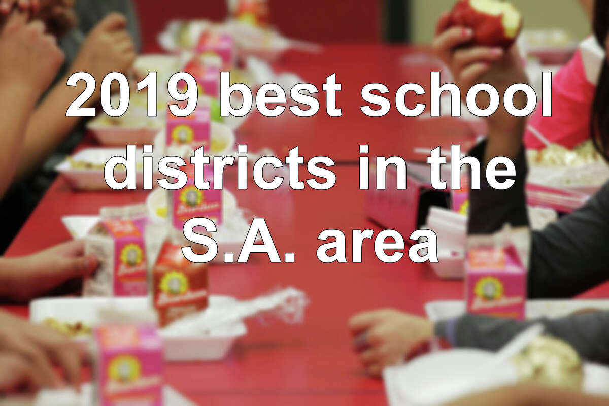 Click through the slideshow to see Niche's ranking of S.A. area school districts, according to Niche.