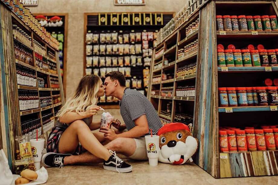 Brooks Taylor and Trevor Waters of Katy are going viral in this photoshoot by Kristina Boyd of Hello Darlin Photography. Photo: Hello Darlin Photography