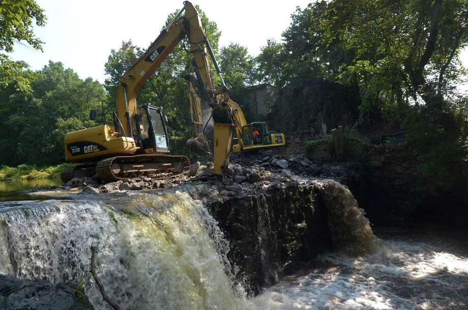 Dam On Norwalk River Coming Down After 150 Years