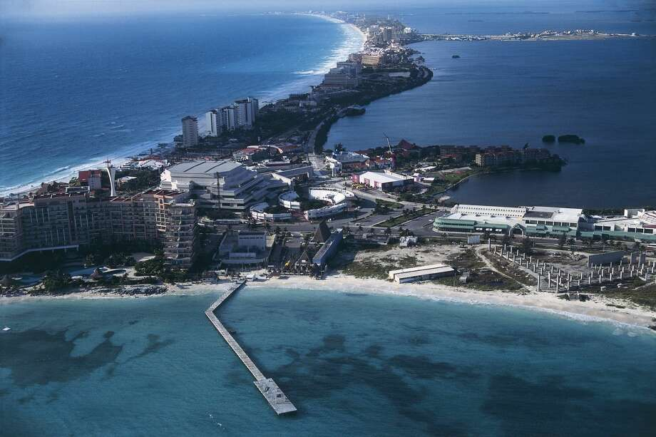 PHOTOS: The most dangerous places to travel in Mexico Cancun, Quintana Roo, Mexico is seen from above. >>The state department reveals the most dangerous places to travel in Mexico. Photo: DEA / C.SAPPA/De Agostini/Getty Images