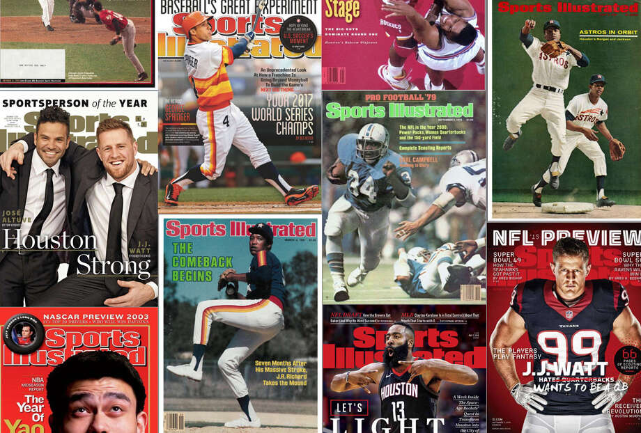 PHOTOS: Houston makes the cover of Sports Illustrated ... See the Houston athletes and teams honored on the covers of past issues of Sports Illustrated. Photo: Sports Illustrated ,  Houston Chronicle Composite