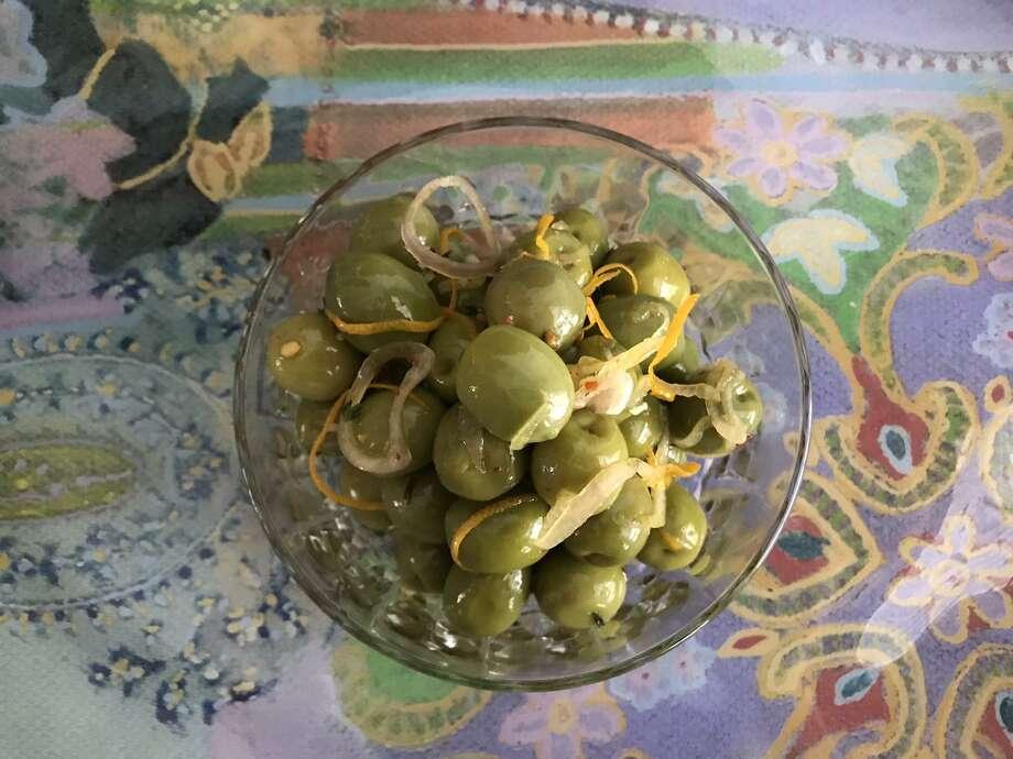 Marinated Olives Photo: Emily Spicer / Staff
