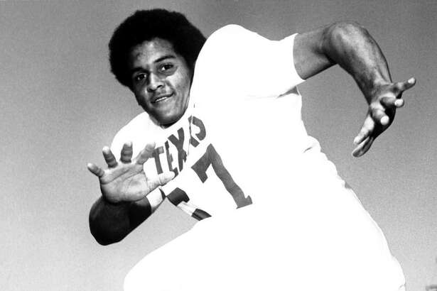 Julius Whittier contributed to the Longhorns' three Southwest Conference title teams in 1970, 1971 and 1972.