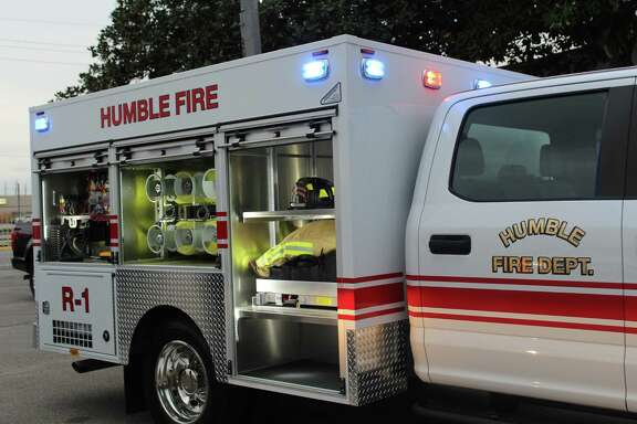 The Humble Fire Department's new 2018 rescue truck is a compact rescue vehicle with the capacity to haul additional supplies and equipment to fires and other emergency situations.