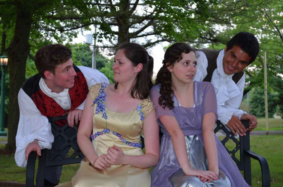 The Clinton Historical Society in cooperation with the Shoreline Actors Collective, an advanced acting troupe at Kidz Konnection Theater Academy will present William Shakespeare's most popular comedy, A Midsummer Night's Dream, for the 8th annual Shakespeare in the Gardens. Photo: Contributed Photo /