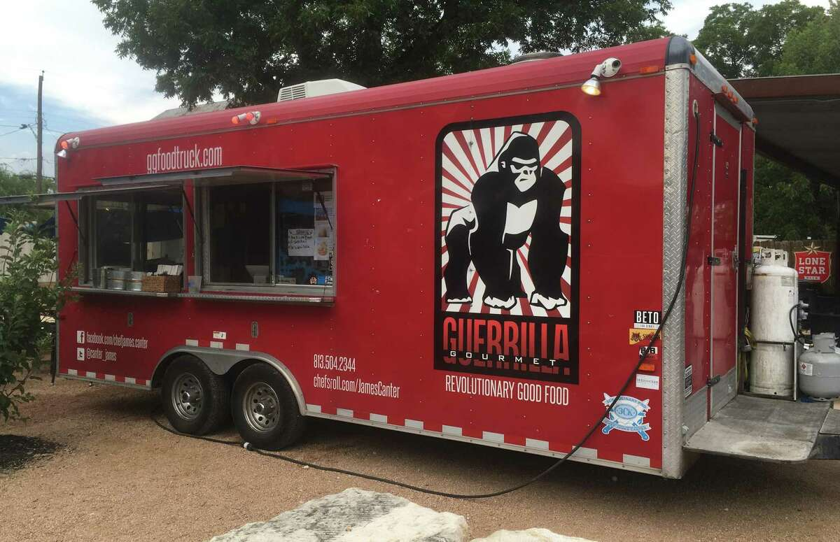 The Guerrilla Gourmet food truck is run by chef James Canter. Canter recently moved to San Antonio after operating primarily in Victoria. The truck makes appearances throughout the San Antonio area, but is often located at the Cherrity Bar at 302 Montana St.