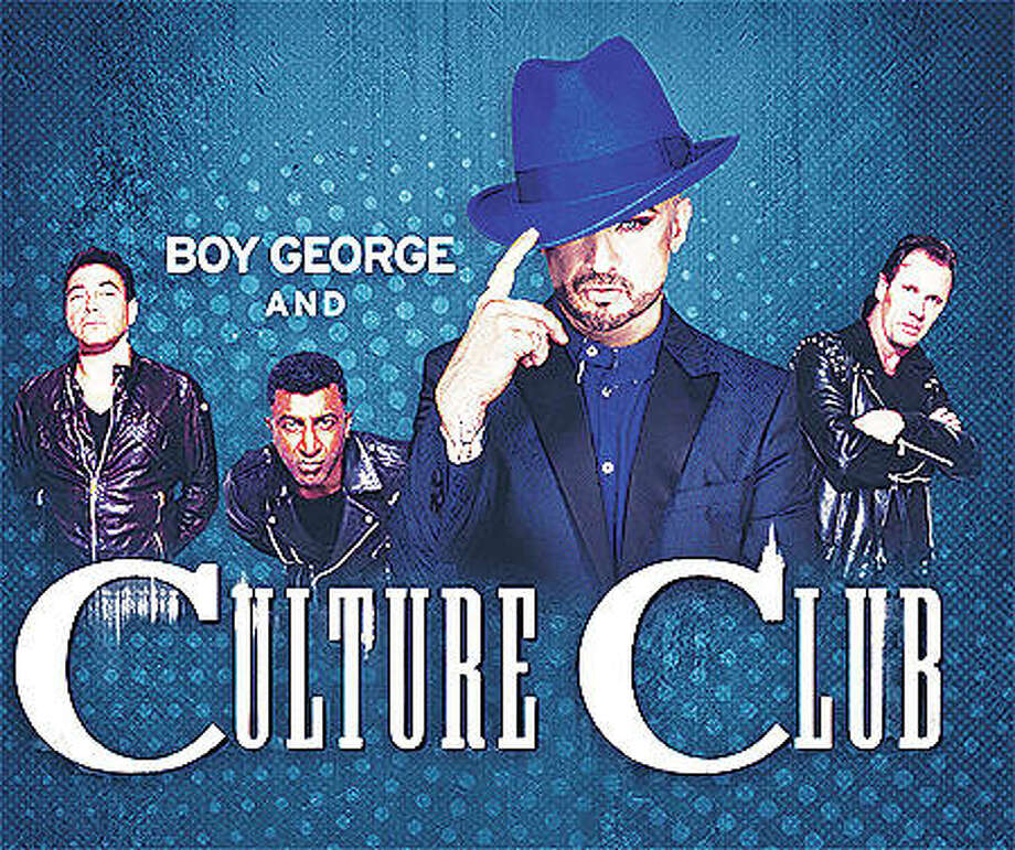 Boy George and Culture Club with Thompson Twins' Tom Bailey perform Friday, Aug. 10, on the Illinois State Fair's grandstand stage in Springfield. Culture Club has been called one of the most influential groups of the 1980s. The British band, led by iconic front-man Boy George, has sold more than 50-million records worldwide. Photo:     Courtesy Of Illinois State Fair|For The Telegraph