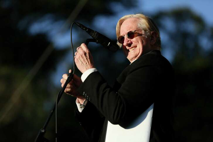 T Bone Burnett performs during the Hardly Strictly Bluegrass music festival at Golden Gate Park in San Francisco, Calif.