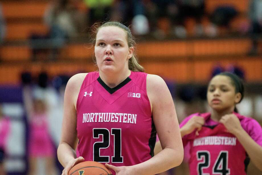 Greenwich High School graduate Abbie Wolf was named the Northwestern University women'ns basketball team's Most Improved Player for the2017-2018 season. Photo: Northwestern University Athletics / Stamford Advocate Contributed