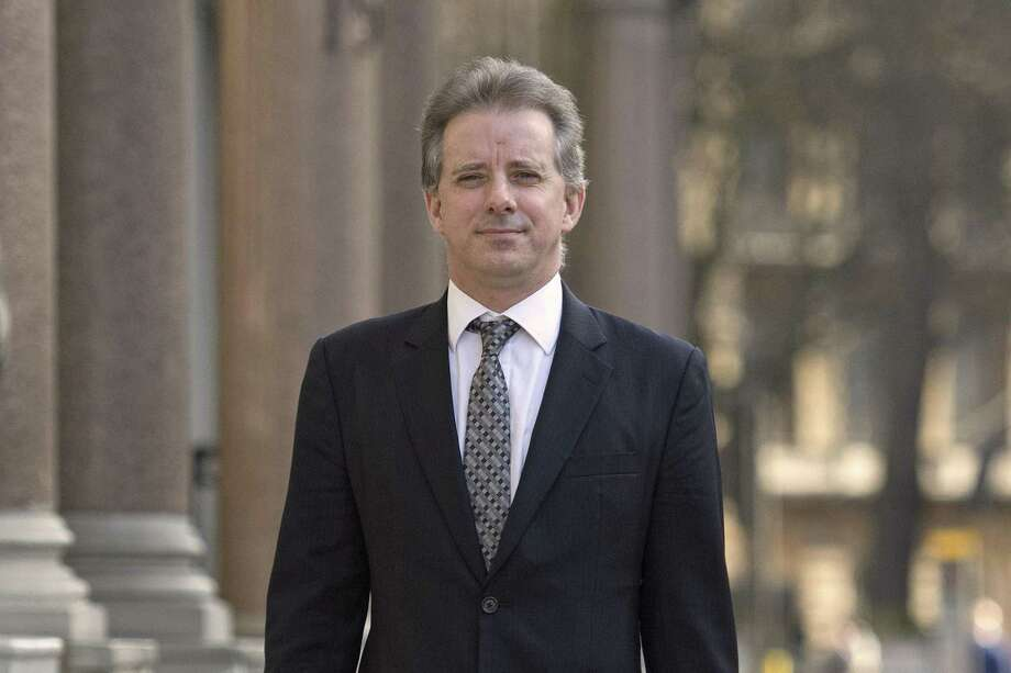 Christopher Steele is a former MI6 agent, hired by Fusion GPS, who compiled a dossier on Donald Trump in London. He did this indirectly paid by the Clinton campaign and the DNC, and reached out to Russian contacts for the dirt. Where's the outrage over Clinton collusion with Russians? Photo: Victoria Jones /Associated Press / PA Archive/PA Images