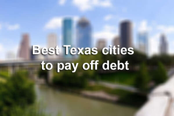 RANKED: Best Texas cities to pay off debt, according to Student Loan Hero.