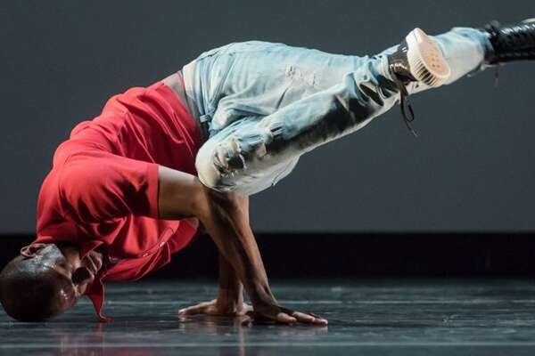 """Raphael Xavier performs at Wesleyan's Center for the Arts Sept. 21, in a performance titled """"Point of Interest."""""""