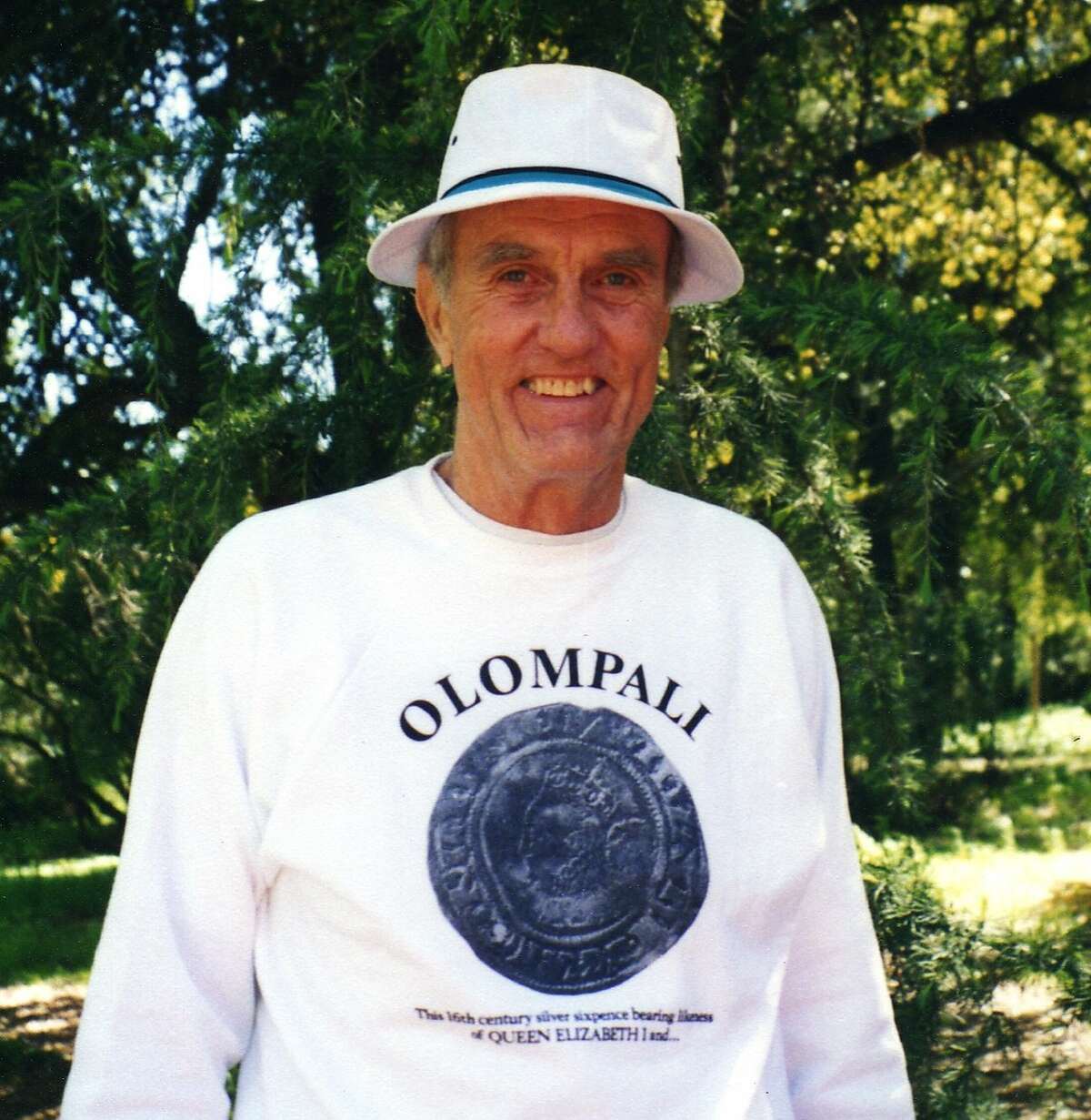 Don McCoy, hippie benefactor of Olompali?•s Chosen Family commune, in 2003 Photo: William Passero