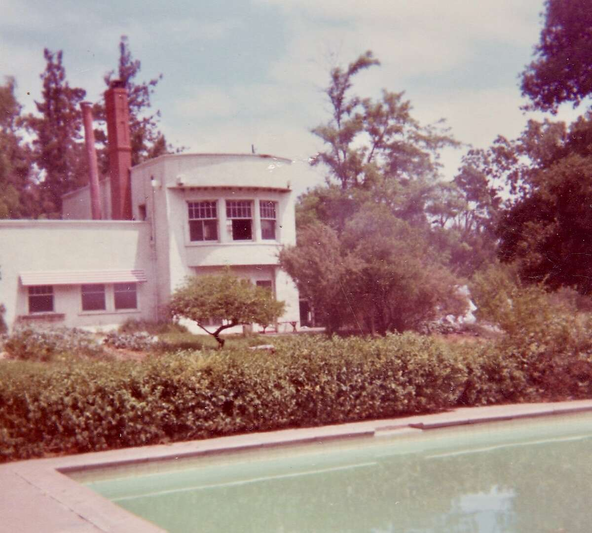 The historic Burdell mansion at Olompali was the site of the Chosen Family commune from 1967 to 1969 Photo: Noelle Barton