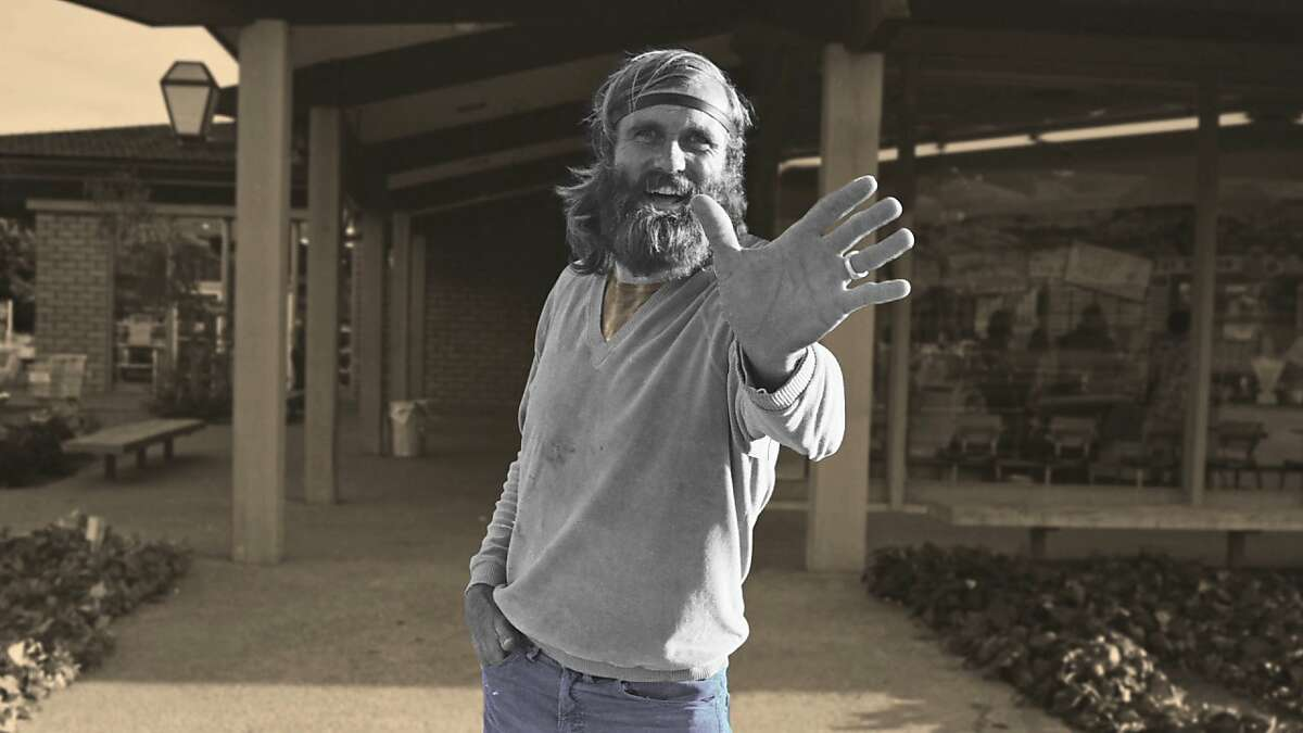 Don McCoy, hippie benefactor of Olompali?•s Chosen Family commune, in 1968 Photo: Peter Risley