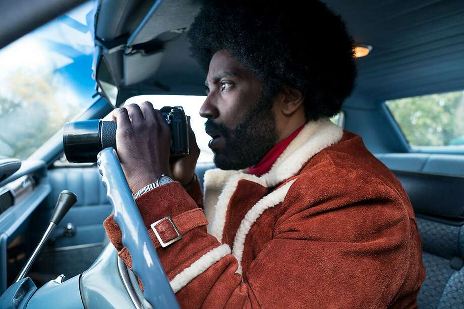BlacKkKlansman is a 2018 American biographical crime film co-written and directed by Spike Lee. (Focus Features). Photo: Focus Features, TNS