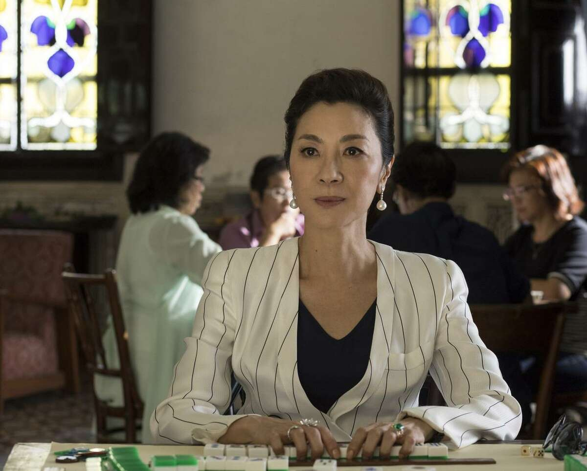 Michelle Yeoh says she relished playing the part of the controlling matriarch: