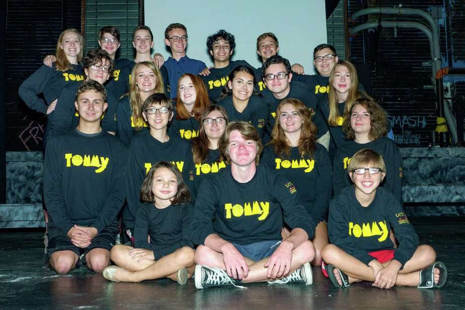 "The cast of ""Tommy"" will present the musical at the Thomaston Opera House this weekend. Photo: Contributed Photo"