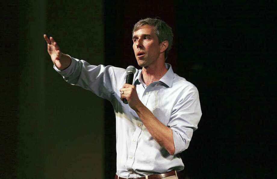 U.S. Congressman Beto O'Rourke hosts a campaign rally for educators at Carver Community Cultural Center on August 7, 2018. Photo: Tom Reel, Staff / Staff Photographer / 2017 SAN ANTONIO EXPRESS-NEWS