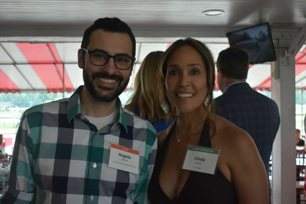 Were you Seen at the 11th Annual 'Visión -- a look at life behind the scenes' at the Saratoga Race Course Clubhouse Porch on Aug. 7, 2018?