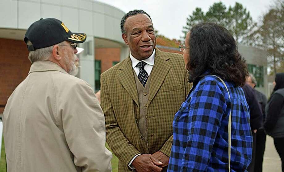 Myron Johnson is Cromwell Selectman. Photo: Cassandra Day / Hearst Connecticut Media