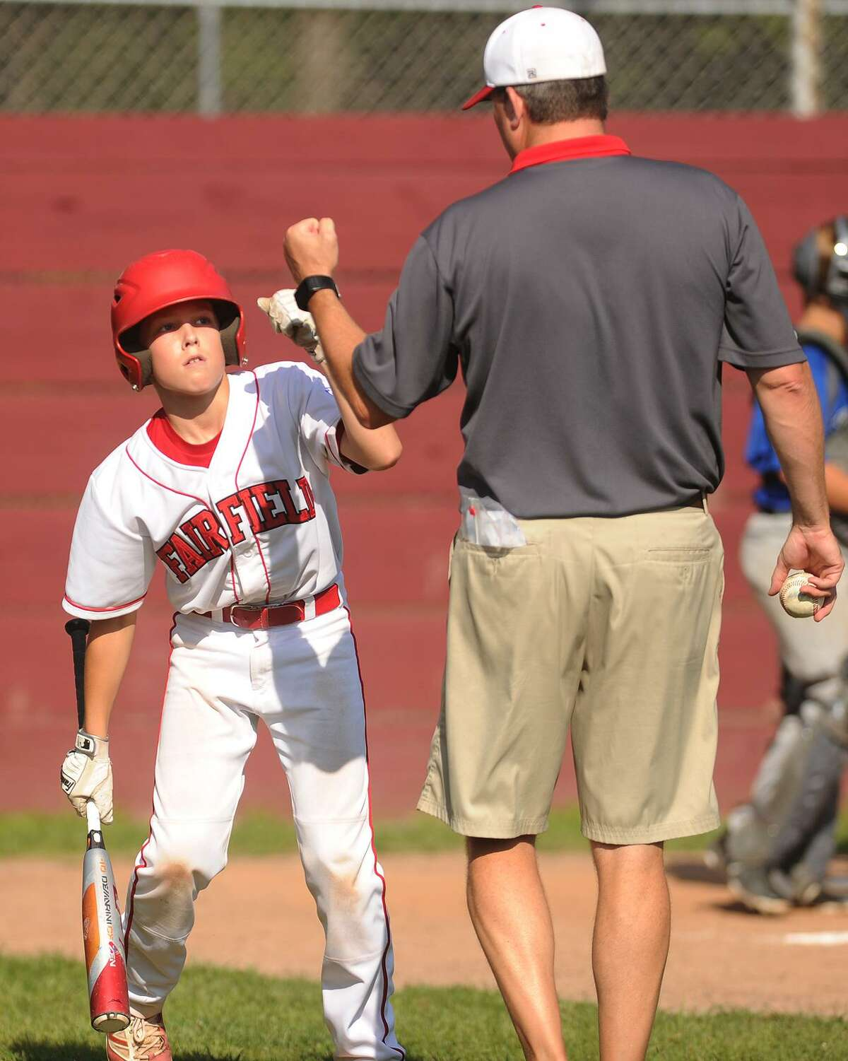 Fairfield American defeats Manchester National 11-9 to win the Little League State Championship at East Lyme Field in Niantic, Conn. on Sunday, July 29, 2018.