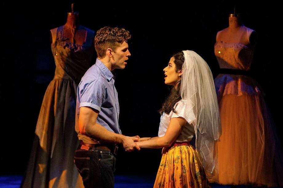"Will Branner and Addie Morales in Barrington Stage Company's new production of ""West Side Story."" Photo: Daniel Rader/Barrington Stage Company"