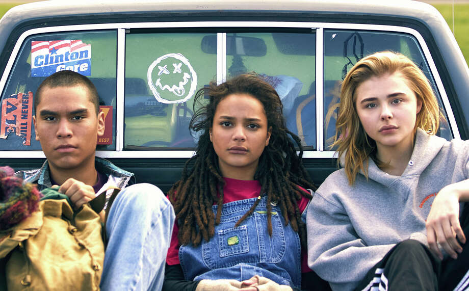 "From left, Forrest Goodluck, Sasha Lane and Chloë Grace Moretz star in coming-of-age drama ""The Miseducation of Cameron Post,"" about a girl in the 1990s who finds herself stuck at a gay-conversion camp. The film, which screened at the Seattle International Film Festival, is often a quieter, more understated take on the same subject matter as Oscar-potential ""Boy Erased,"" but don't let that trip you up.  Photo: Film Rise / The Washington Post"