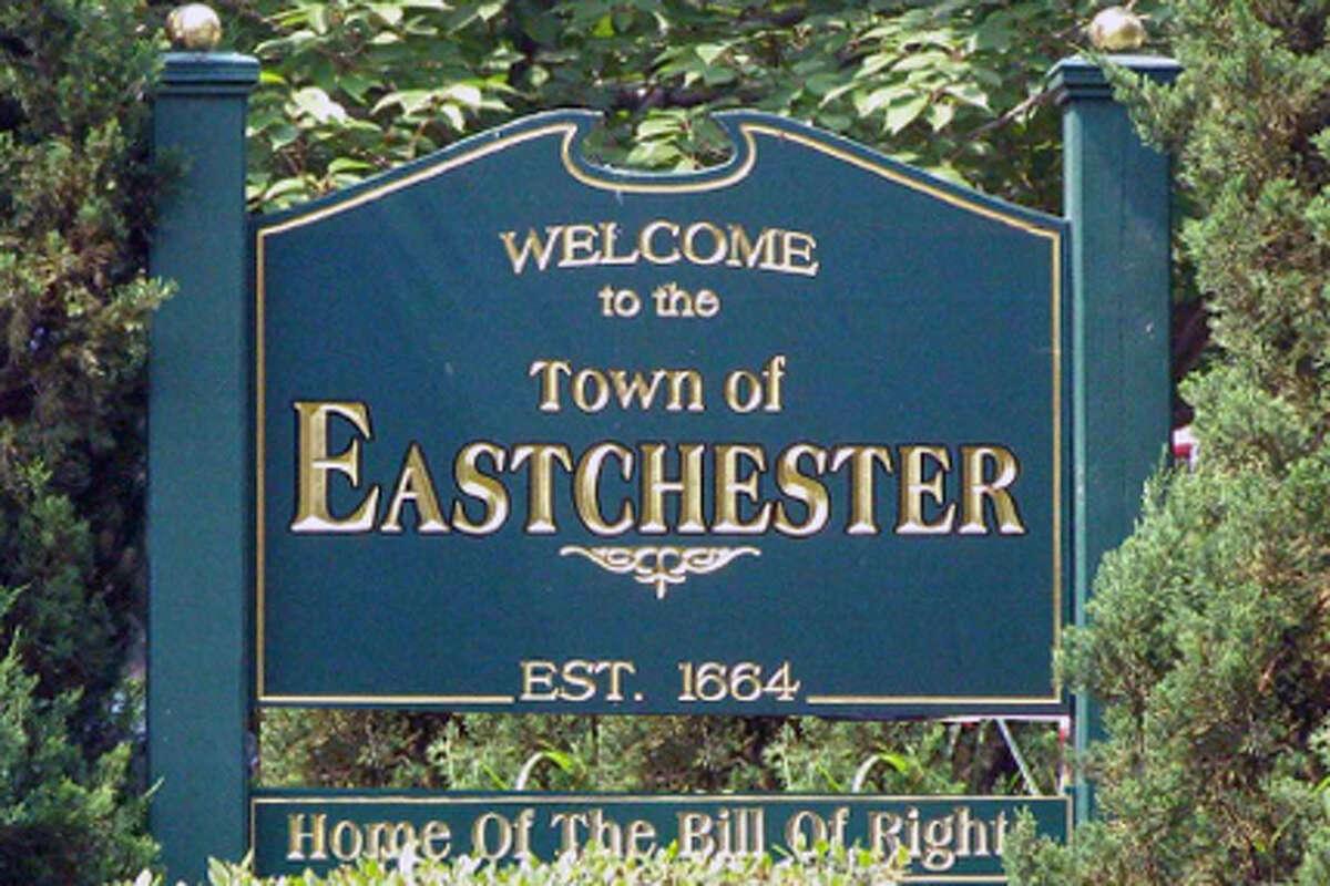 24. Town of Eastchester , Westchester County Population: 20,150 Violent crimes per 1,000: 0.25 Property crimes per 1,000: 8.59 Total crimes: 2.89% violent, 97.11% property