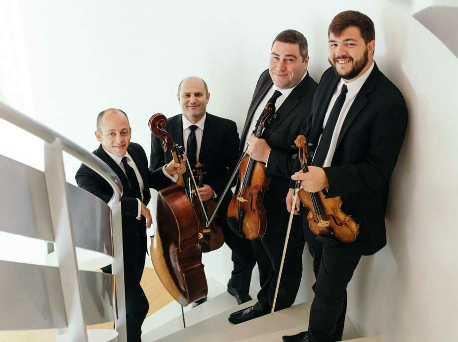 The Amernet String Quartet will play at Music Mountain this weekend. Photo: Music Mountain / Contributed Photos