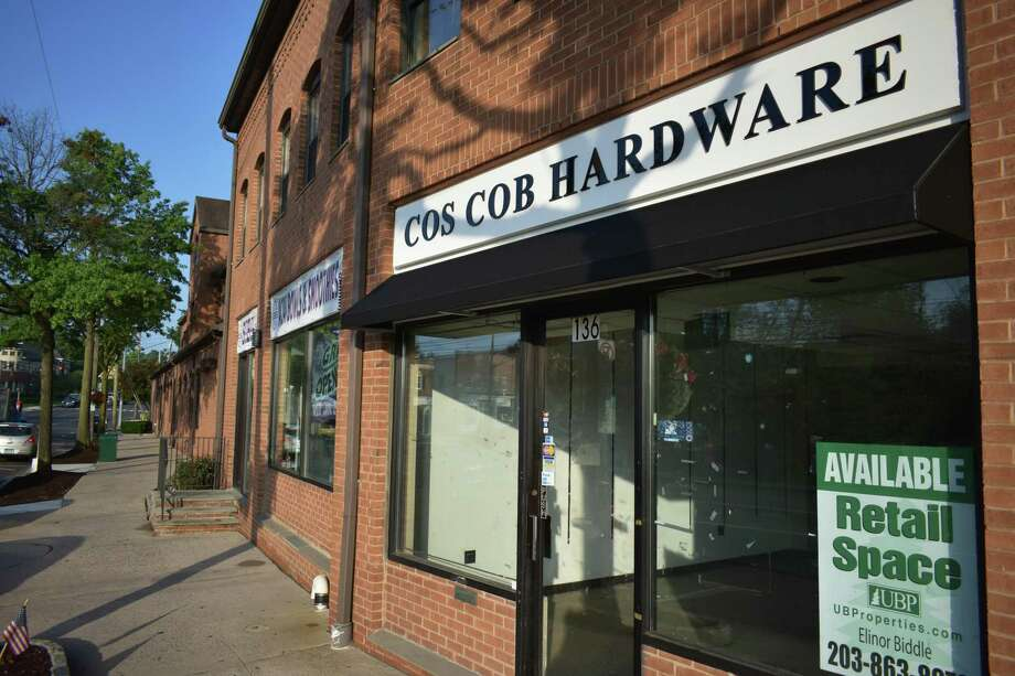Cos Cob Commons — Exiting July, Cos Cob Hardware closed at 136 E. Putnam Ave. in Greenwich, with the 1,000-square-foot space now available from Urstadt Biddle Properties on a bustling block that includes Fleishers Craft Butchery, Fjord Fish Market, Greenwich Cheese and SoBol. Town residents have multiple remaining options for their hardware needs including Feinsod Hardware at 268 Sound Beach Ave., Glenville Hardware at 12 Riversville Road, and Greenwich Hardware & Home at 230 Railroad Ave.; as well as a new Home Depot just over the Stamford line. Photo: Alexander Soule / Hearst Connecticut Media / Stamford Advocate