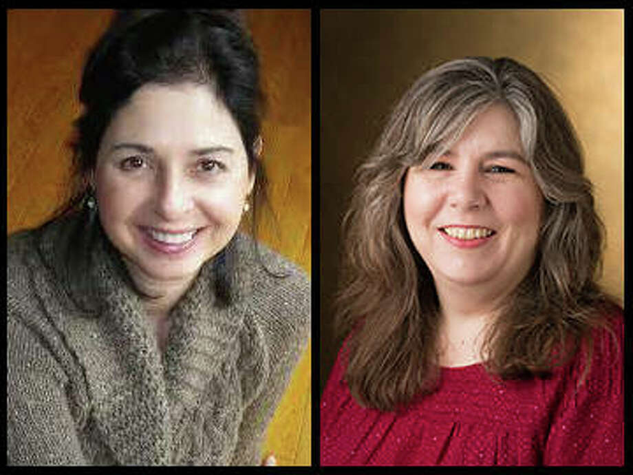 Sustainability conference co-facilitators are Lisa Martino-Taylor, PhD, (left) and Connie Frey Spurlock, PhD, (right). Frey Spurlock is an associate professor and Martino-Taylor is an assistant professor, both in the College of Arts and Sciences' Department of Sociology. Photo:       For The Telegraph