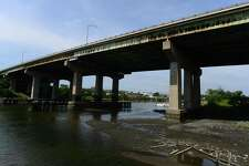 The Yankee Doodle Bridge spanning the Norwalk River. A state Department of Transportation project to overhaul the span will begin Aug. 16.