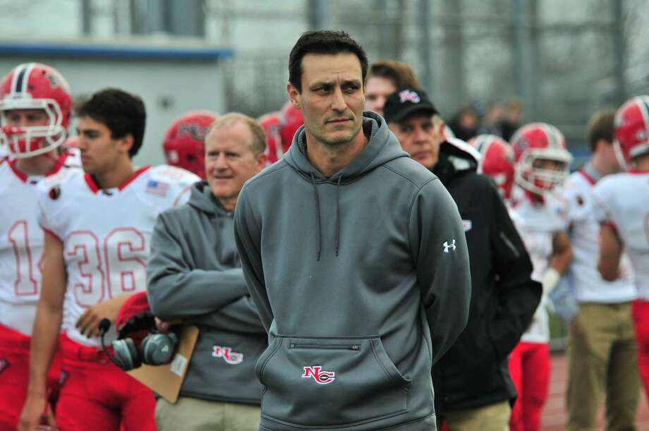 New Canaan defensive coordinator Chris Silvestri has been at the position for 17 years. Photo: Contributed Photo / New Canaan News contributed