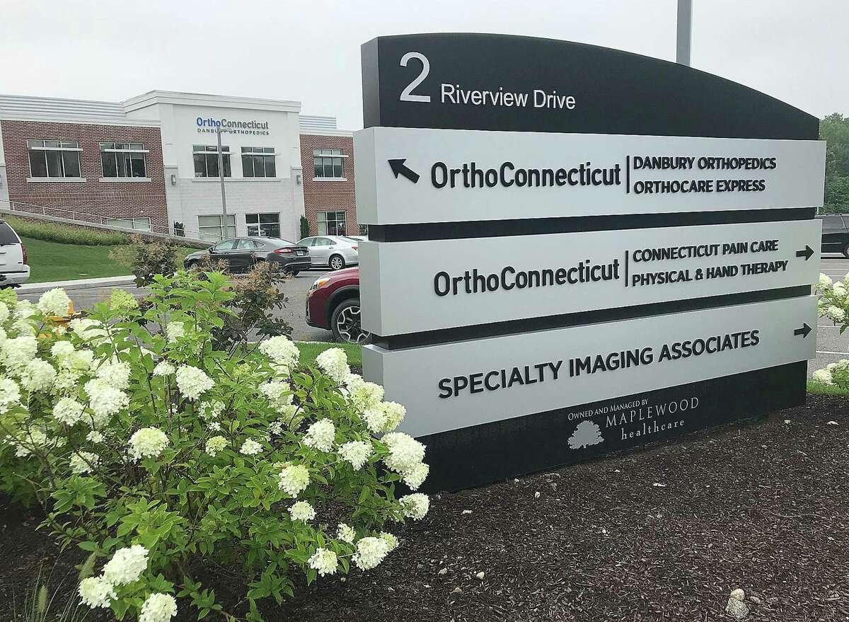 OrthoConnecticut recently built this medical office complex in Berkshire Corporate Park in Danbury, Conn., as seen in this photo taken Wednesday, Aug. 8, 2018.