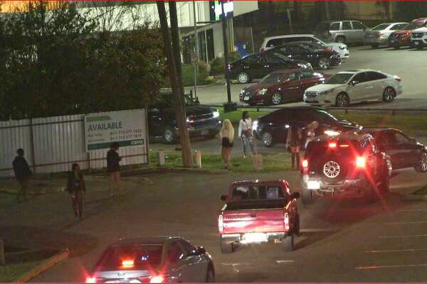 Harris County released this image of prostitution along Bissonnet.